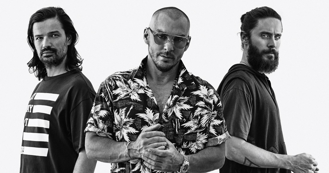 Listen to 30 Seconds To Mars' new single Walk On Water