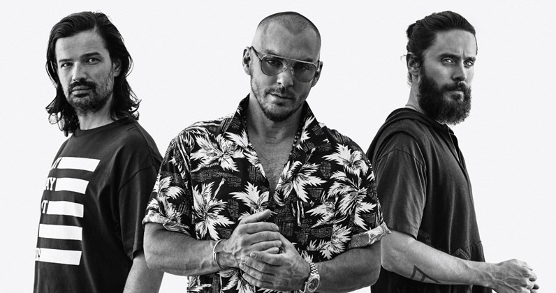 30 Seconds To Mars complete UK singles and albums history