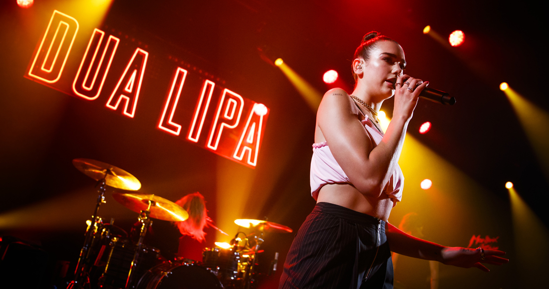 "Dua Lipa's album has ""at least another two singles to come"""