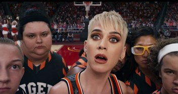 Katy Perry shares star-packed Swish Swish music video