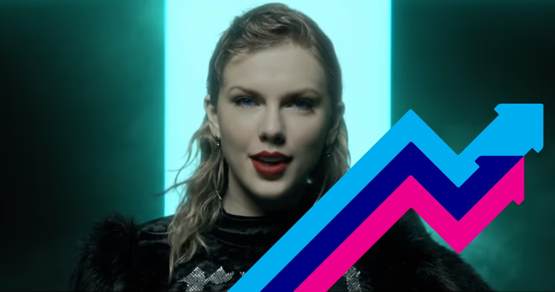 Taylor Swift's Look What You Made Me Do is the UK's Number 1 trending song this week