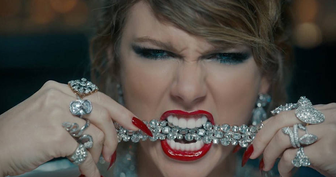 Taylor Swift claims two weeks at the top with Look What You Made Me Do