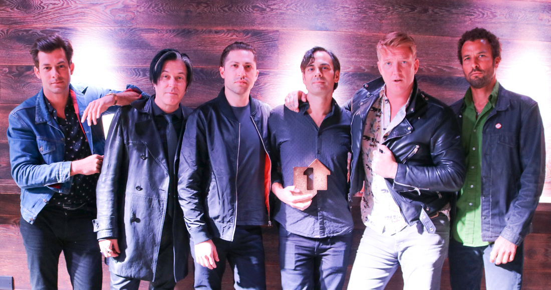 QOTSA score first UK Number 1 album with Villains