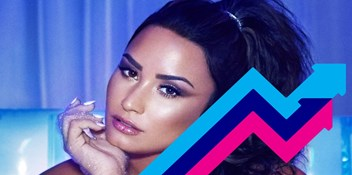 Demi Lovato's Sorry Not Sorry is this week's Official Trending Chart Number 1
