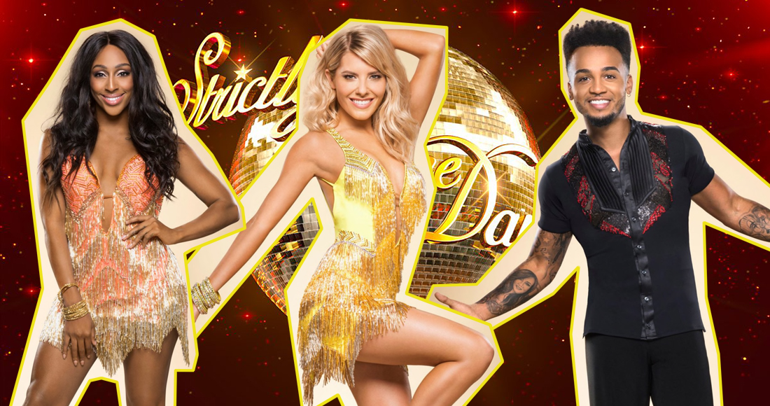 Strictly 2017: Who's had more success on the cha-cha-charts?