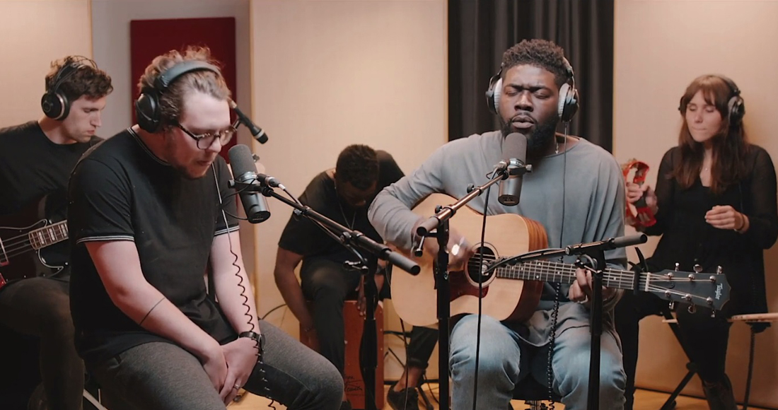 Watch Jake Isaac and Saint Raymond's uplifting live session: Premiere