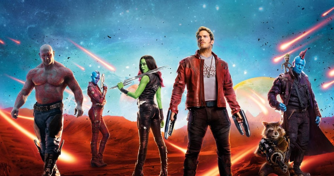 Guardians of the Galaxy is set for a second week of DVD chart glory