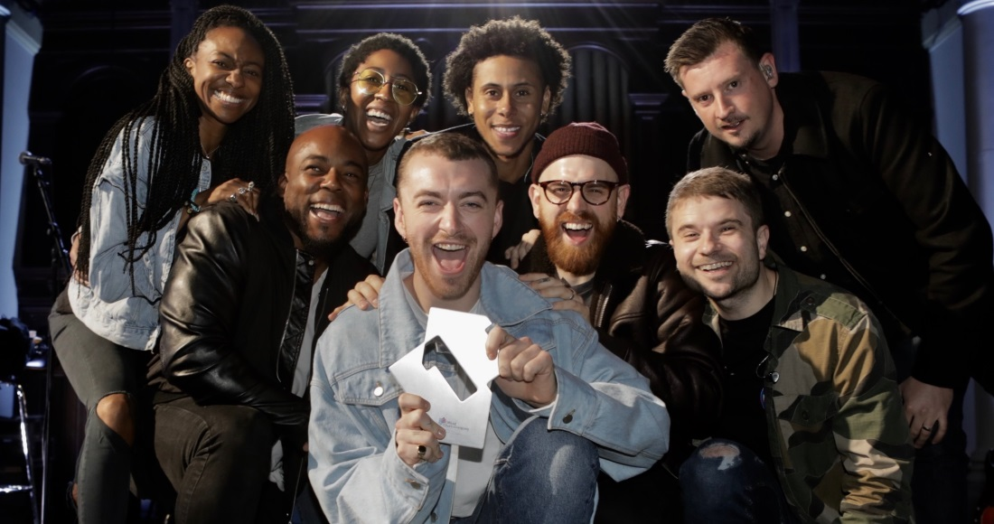 It's a sixth UK Number 1 for Sam Smith on the Official Singles Chart
