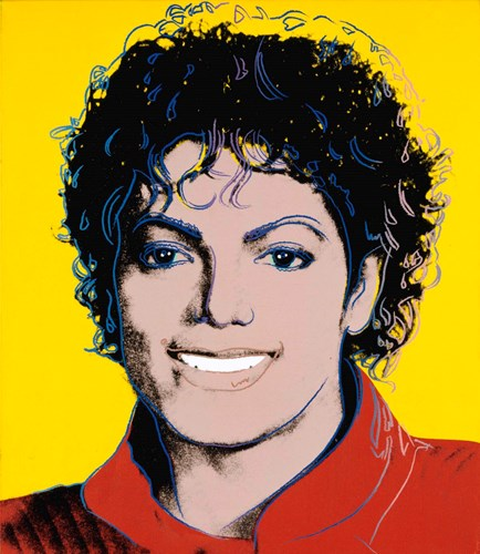 Michael Jackson by Andy Warhol -  Photo: Roland White/NPG