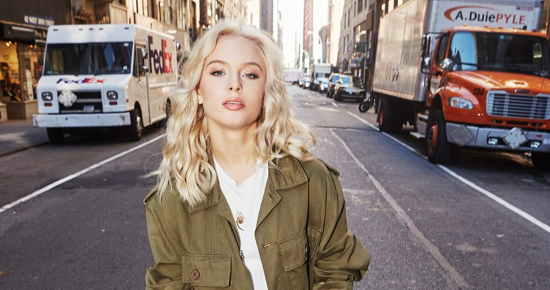 a685812084e Zara Larsson on her new UK tour and how album two is shaping up: