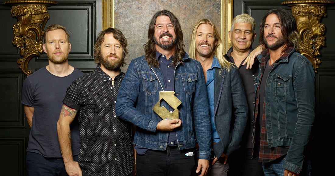 Foo Fighters complete UK singles and albums chart history
