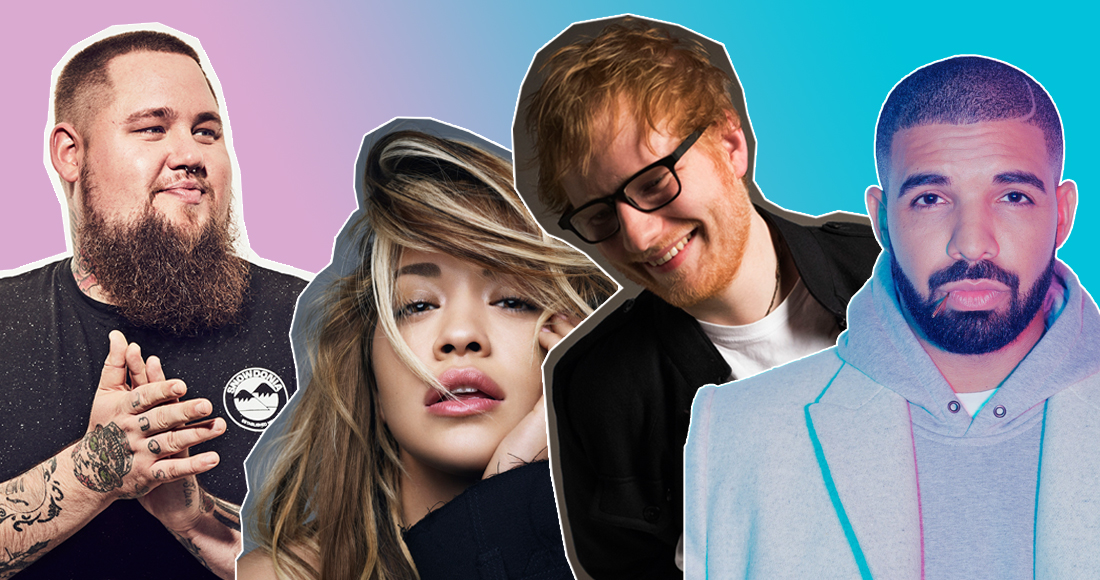 The UK's Official Top 40 biggest singles of 2017 so far