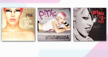 Win Pink's Can't Take Me Home, Misundazstood and Try This on vinyl