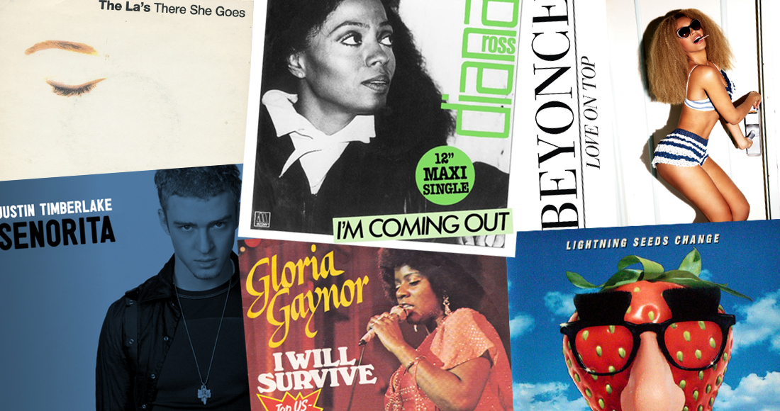 Every song that peaked at Number 13 on the Official Singles Chart