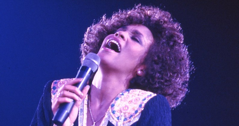 Whitney Houston's Official Top 20 most-played tracks