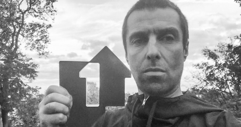 Liam Gallagher album charges in at Number 1, sets new vinyl record