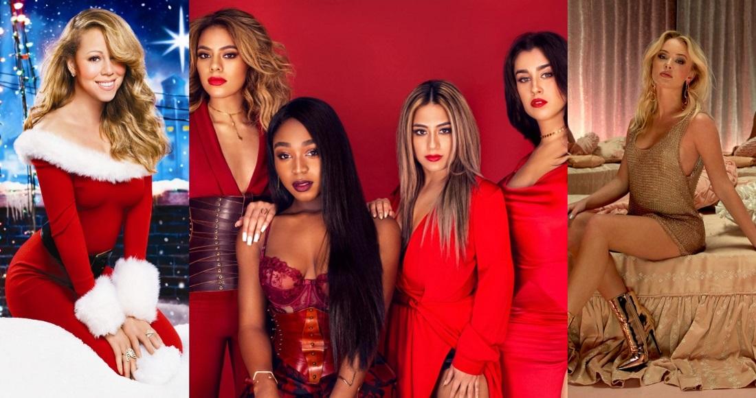 Fifth Harmony Christmas.Fifth Harmony Zara Larsson Join Mariah Carey On New