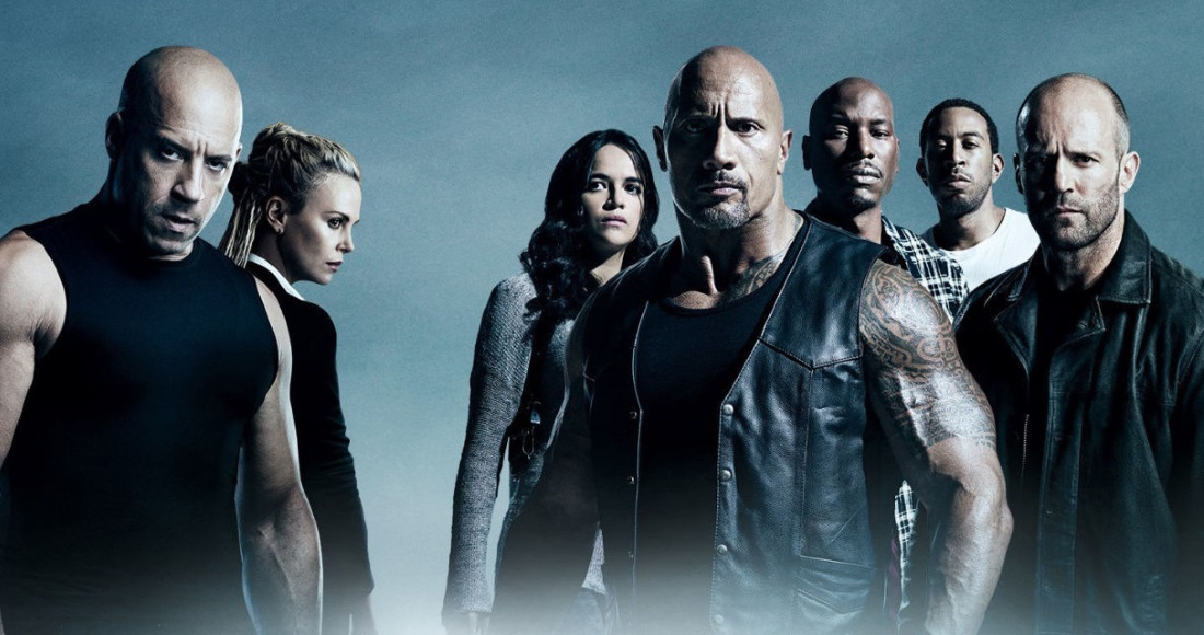 Fast & Furious 8 speeding to Number 1 on the Official Video Chart