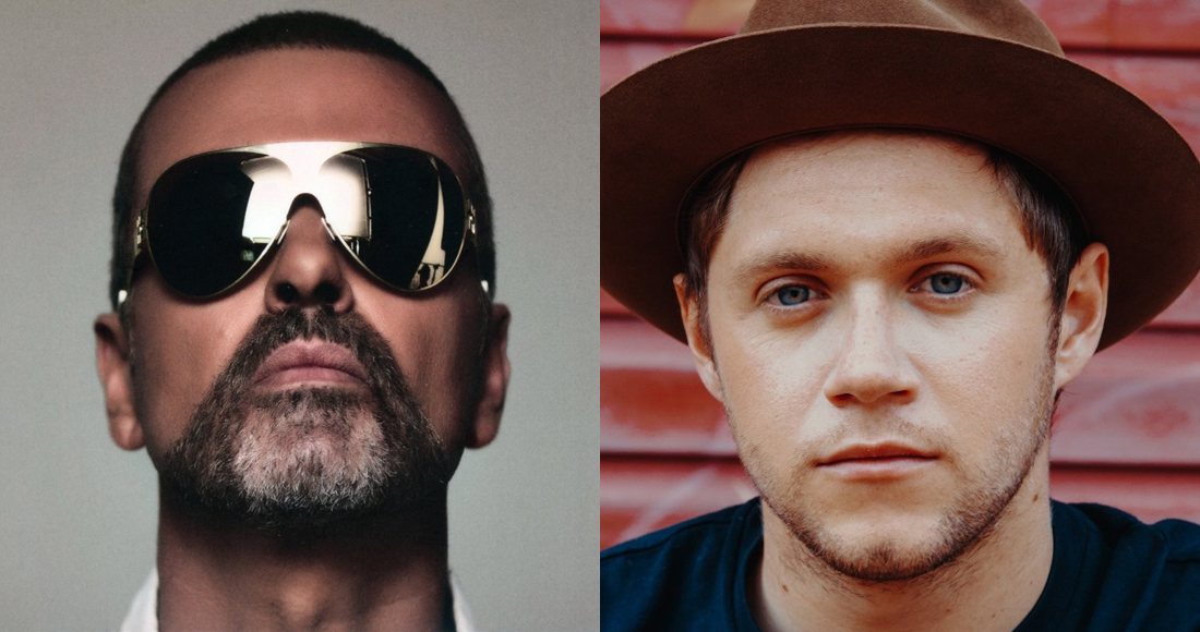 George Michael ahead of Niall Horan in race for Number 1