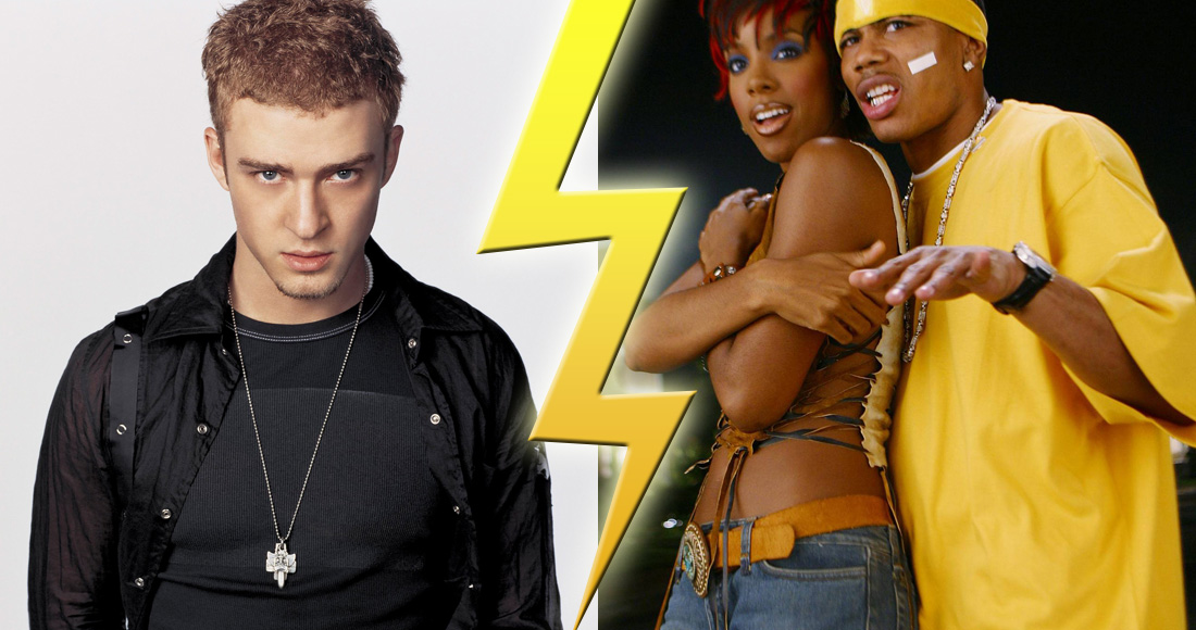 Official Charts Flashback: Justin Timberlake vs. Nelly & Kelly Rowland