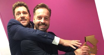 Michael Ball and Alfie Boe celebrate Number 1 album Together Again on ITV's Lorraine