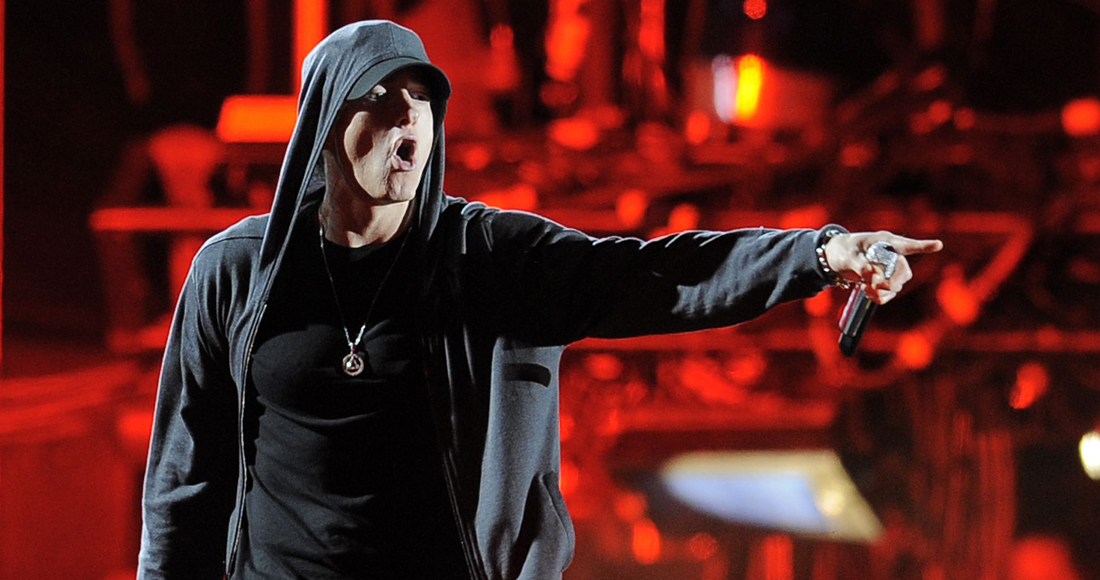 Eminem's 30 biggest songs on the Official Chart