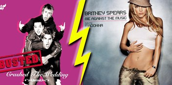 Official Charts Flashback 2003: When Busted beat Britney Spears and Madonna to Number 1