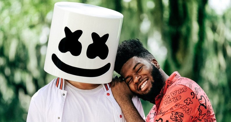 Marshmello ft. Khalid complete UK singles and albums chart history