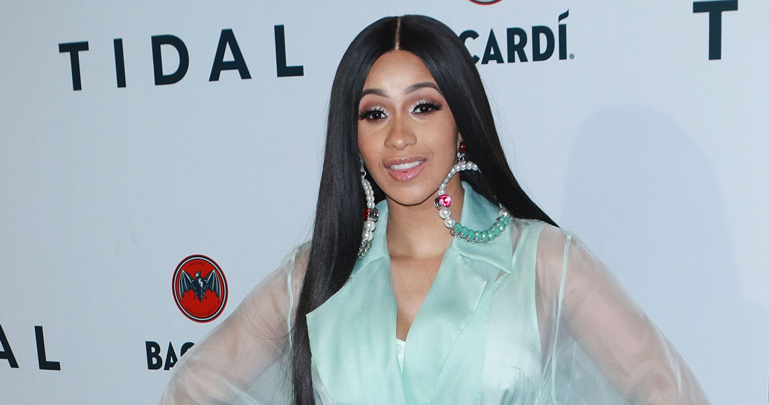 Cardi B becomes the first female rapper to have two US Number 1 singles