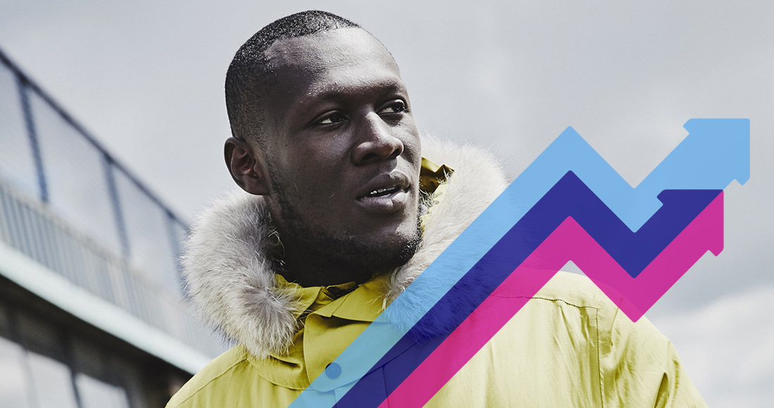 Stormzy's Blinded By Your Grace climbs to trending chart Number 1