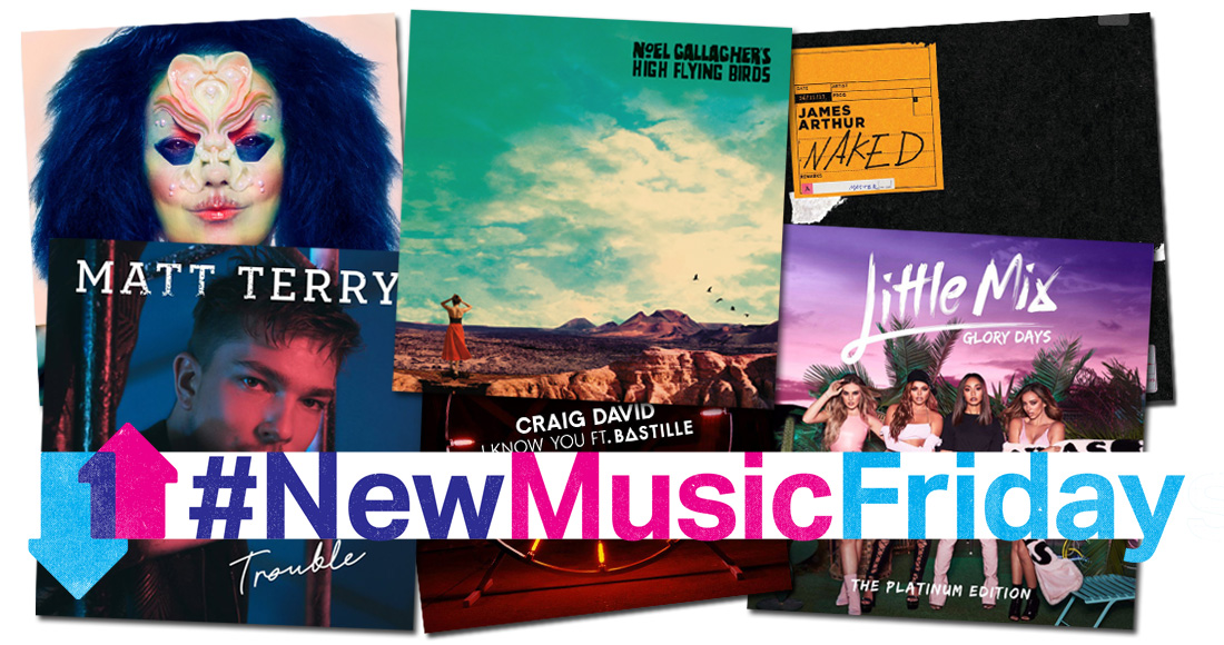 This week's new releases: Noel Gallagher, Little Mix, more