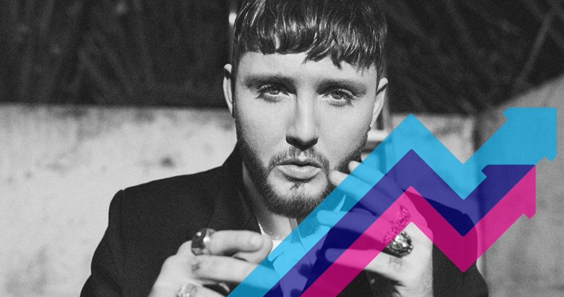 James Arthur's Naked lands at Number 1 on the Official Trending Chart