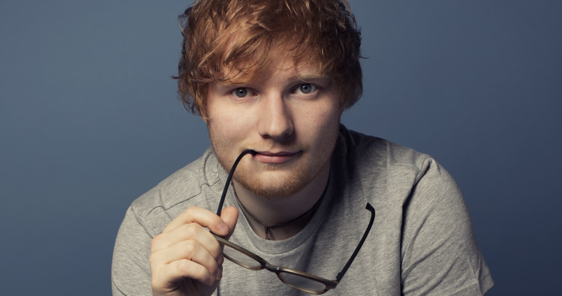 Ed Sheeran is Number 1 for a sixth week, Bruno Mars is highest new entry