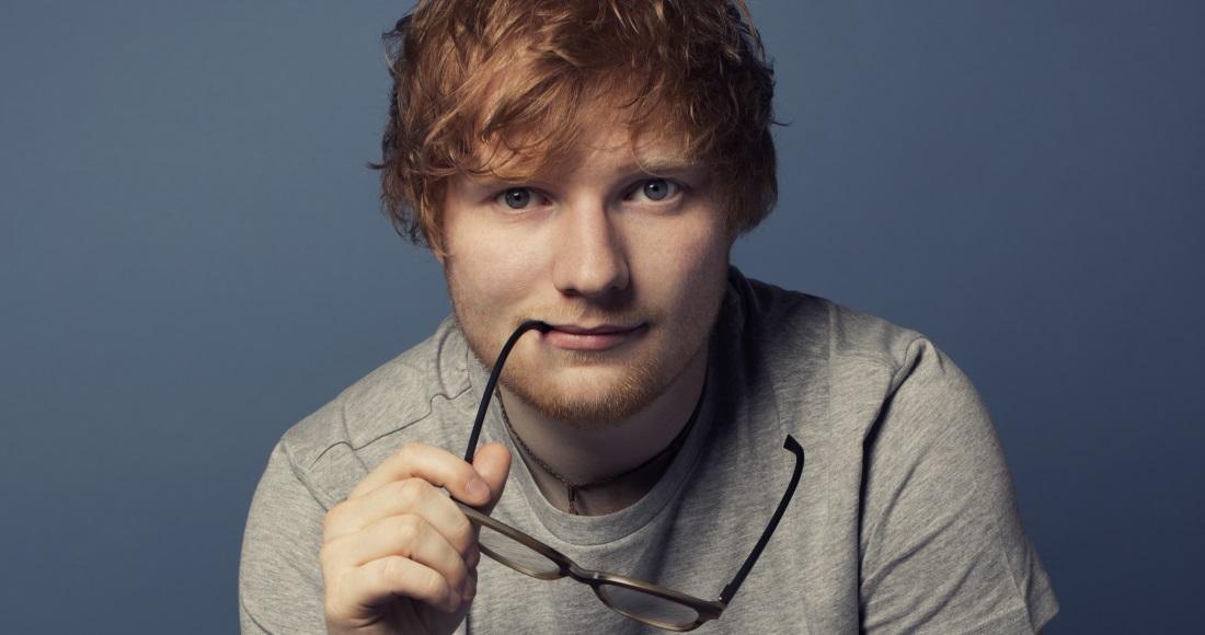 Ed Sheeran is Number 1 for a sixth week, Bruno Mars is