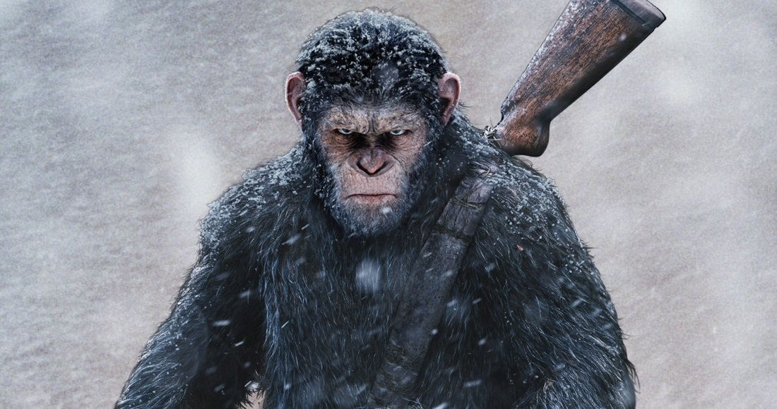 New Planet of the Apes movie is looking fierce on the DVD chart