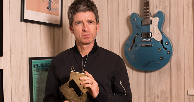 Noel Gallagher complete UK singles and albums chart history