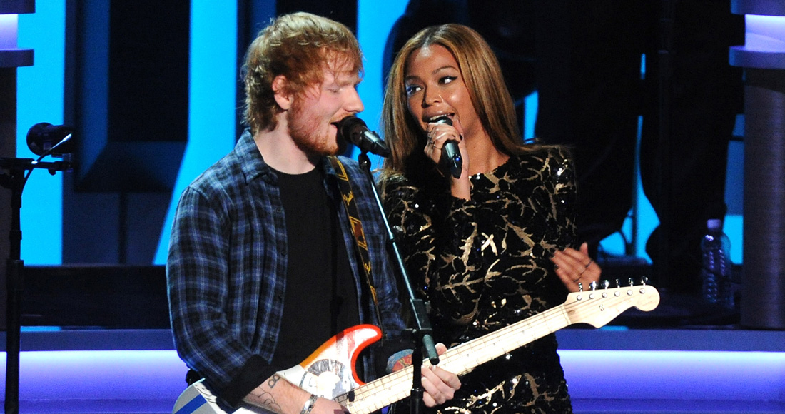 Ed Sheeran's Perfect duet with Beyoncé is heading for Number 1