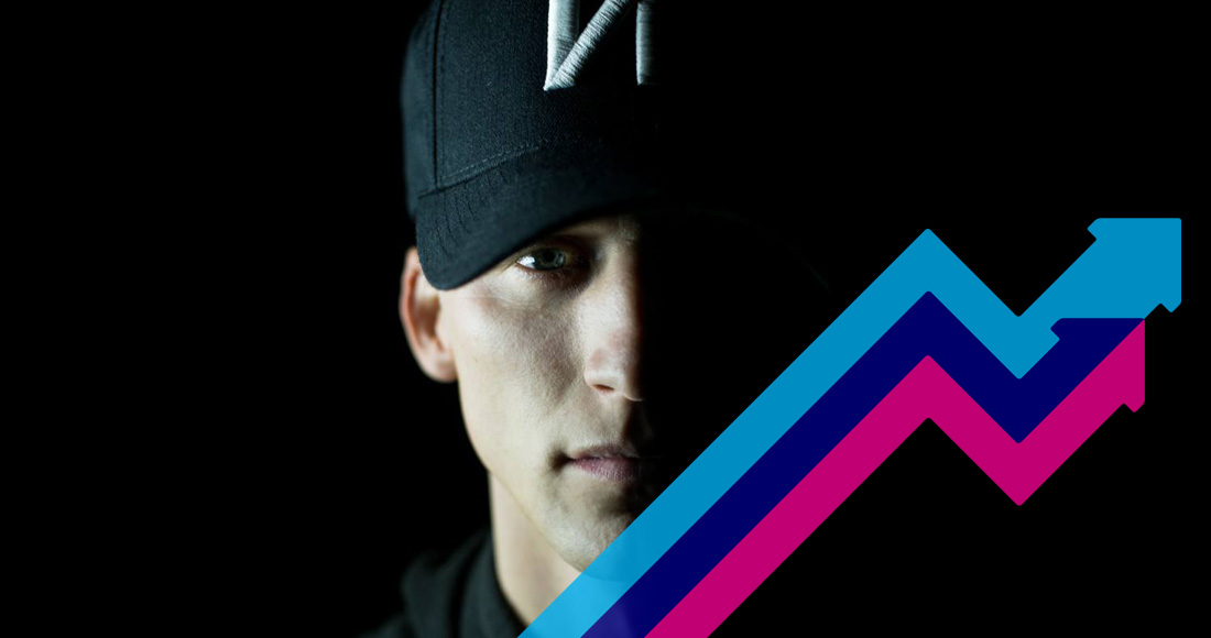 NF's Let You Down is Number 1 on this week's Official Trending Chart