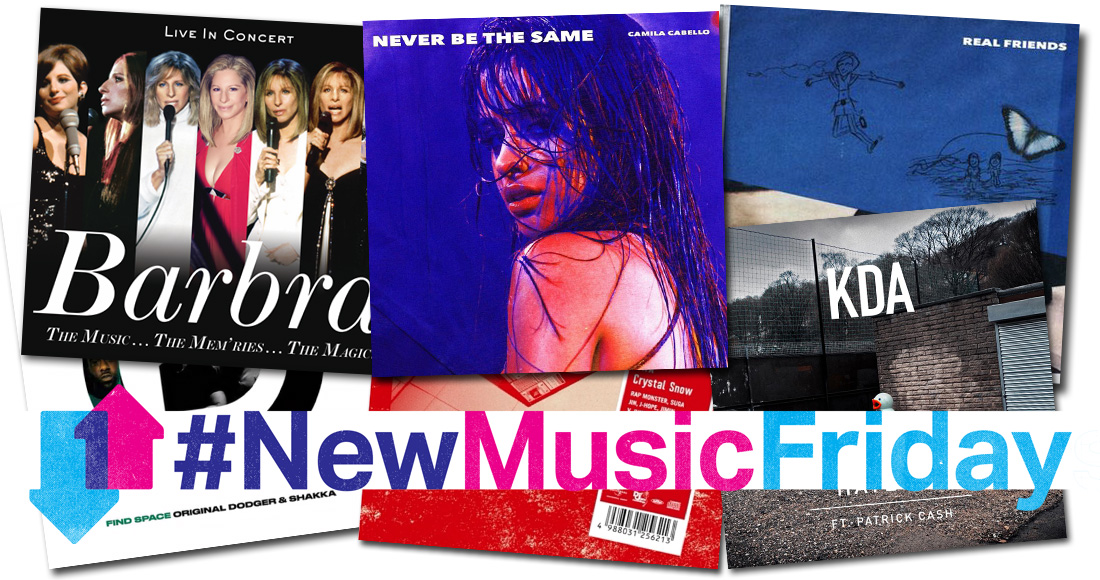 This week's new releases: Camila Cabello, Barbra Streisand, more