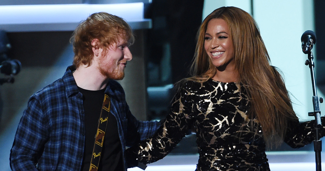 Ed Sheeran's Perfect climbs to Number 1 on the Official Singles Chart