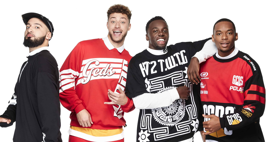 X Factor's Rak-Su make Official Singles Chart debut