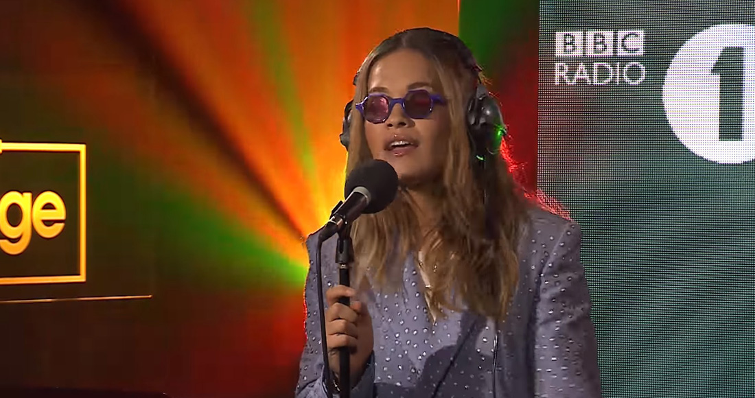 Rita Ora reveals the actual lyrics to Anywhere chorus
