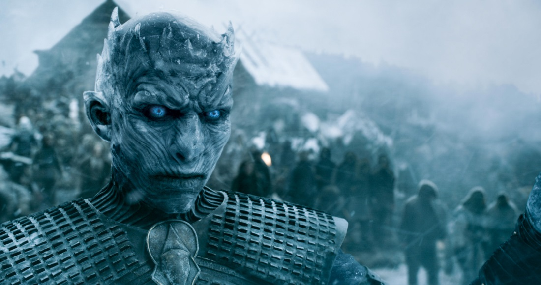Game of Thrones storming to the North of the Official Video Chart this week