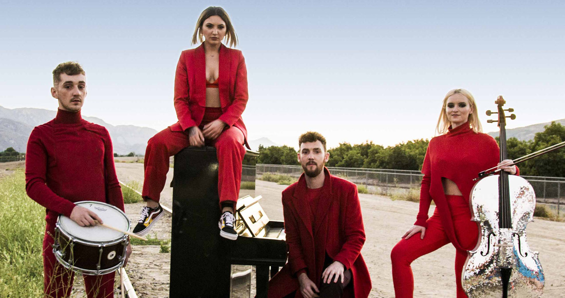 Clean Bandit ft. Julia Michaels complete UK singles and albums chart history