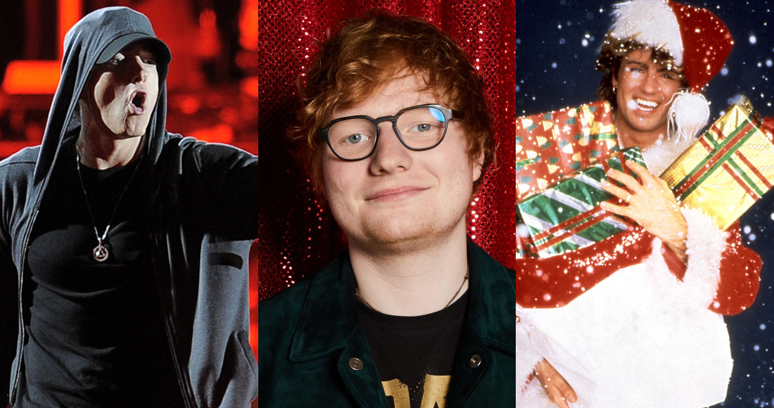 Christmas Number 1: Ed Sheeran, Eminem and Wham! go head to head after 24 hours