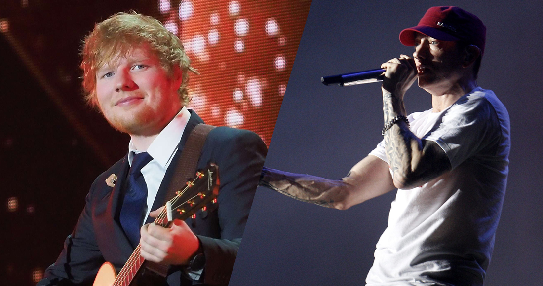 Christmas Number 1: Ed Sheeran versus Eminem at the midweek stage