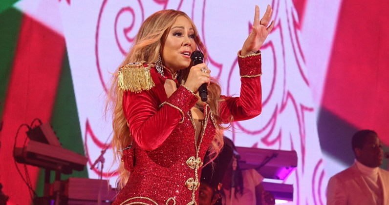 mariah careys festive classic jingles all the way to a new high on americas billboard hot 100