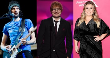 Ed Sheeran, Kelly Clarkson, Kasabian's Sergio and more reveal their favourite albums of 2017