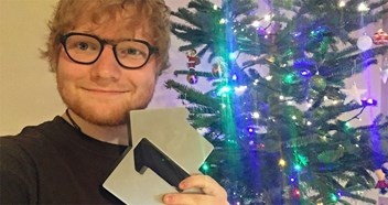 "Ed Sheeran's Perfect claims the UK's Official Christmas Number 1 2017: ""It's an actual dream"""