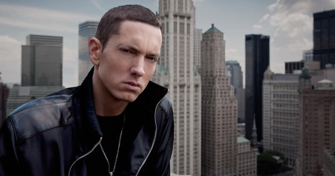 Eminem on course to claim ninth UK Number 1 single